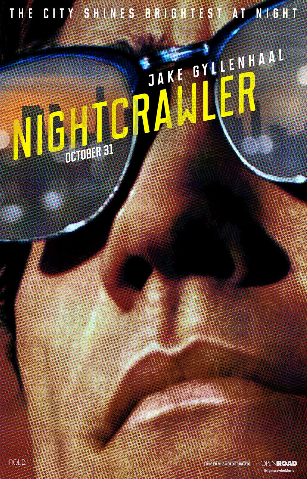 Nightcrawler: Poster | A Constantly Racing Mind