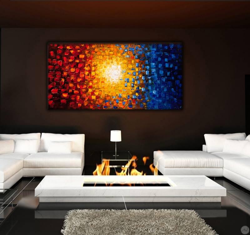 tableau d co grande taille. Black Bedroom Furniture Sets. Home Design Ideas