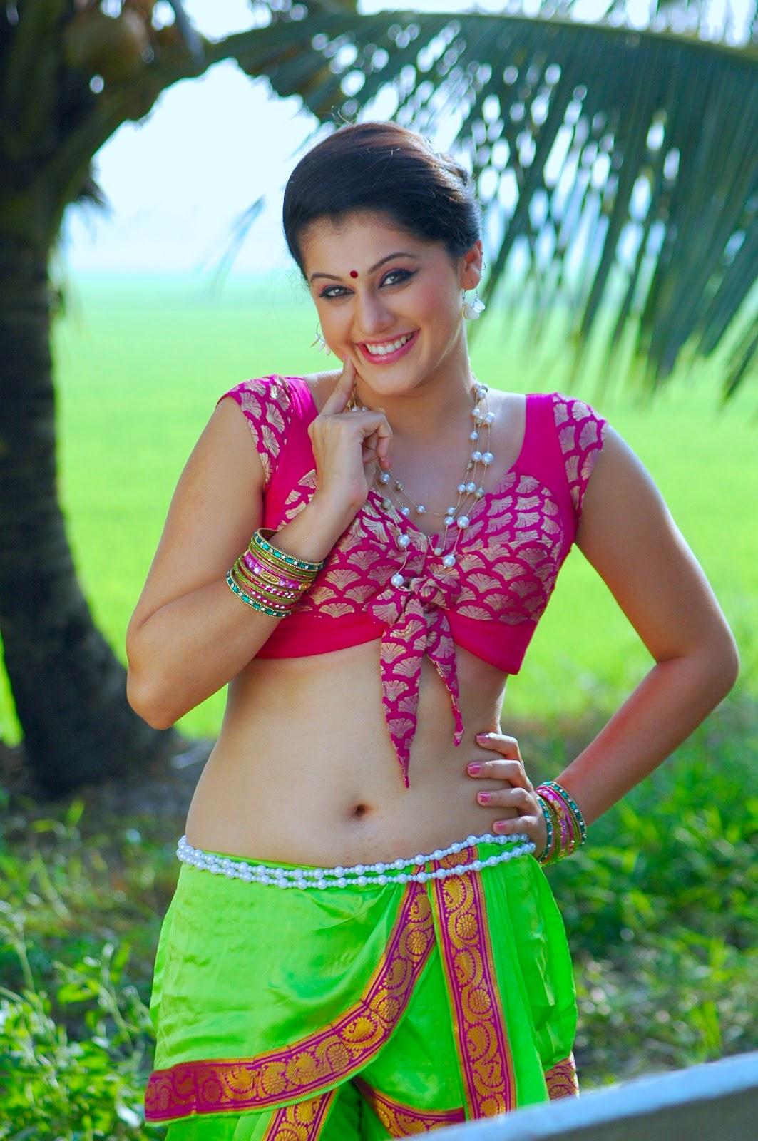 Tapsee Pannu's Deep Navel Hot Armpit Mind Blowing HD Photos