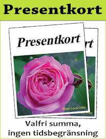 Wickmans Plantskolas Presentkort = Julklapp!