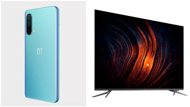 OnePlus TV U1S and OnePlus Nord CE 5G launched - Prices, features, and Specifications | TechNeg