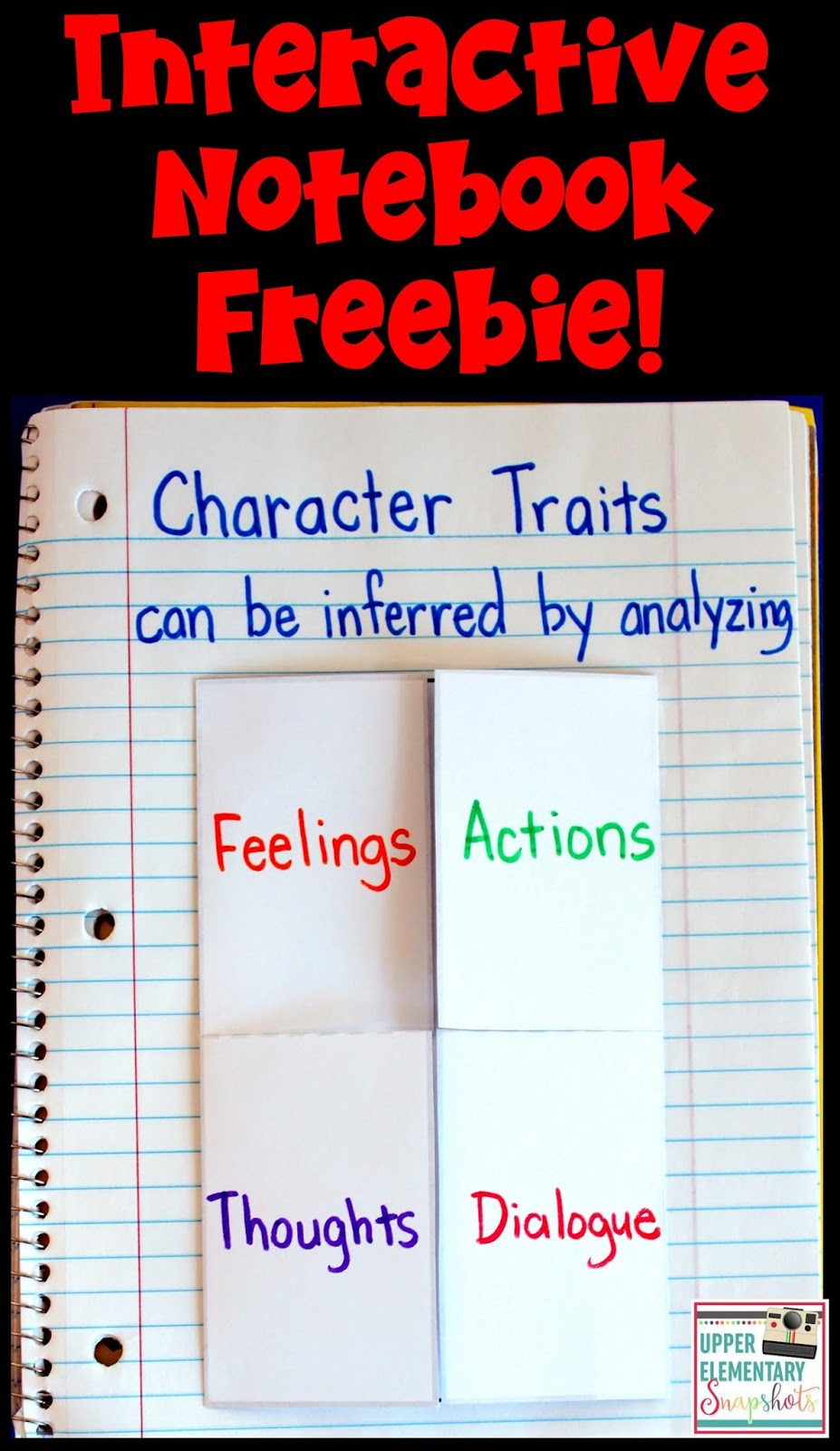 small resolution of Character Traits: A Lesson for Upper Elementary Students   Upper Elementary  Snapshots