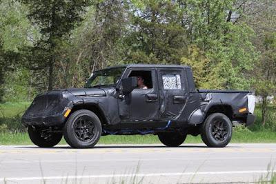 Jeep Wrangler Pickup 2019: nouvelles et rumeurs