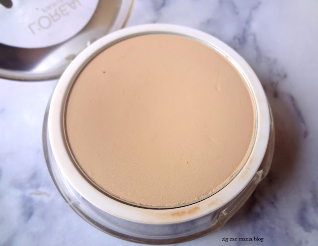 Review of Loreal Matte Magique All in one matte transforming Compact Powder shade G1