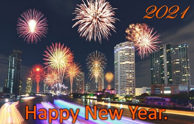 happy new year 2021 greeting
