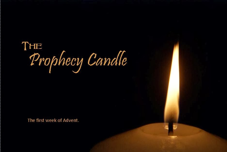 the prophecy candle the first week of advent. Black Bedroom Furniture Sets. Home Design Ideas