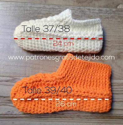 pantuflas-crochet-paso-a-paso