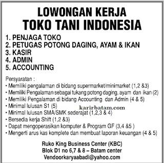 Lowongan Kerja Toko Tani Indonesia