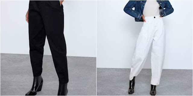 pantalones slouchy collage