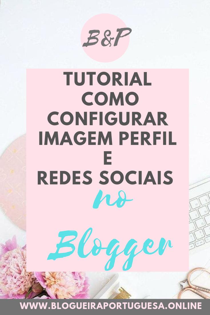 Configurar no blogger perfil redes sociais (ALT)
