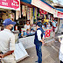 आजाद नगर एसडीएम राकेश परमार ने किया अस्पताल व दुकानों का निरीक्षण