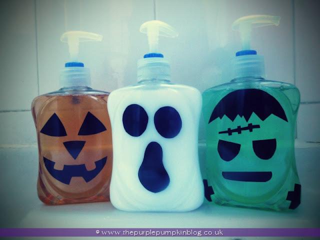 Halloween Handwash {Crafty October} at The Purple Pumpkin Blog
