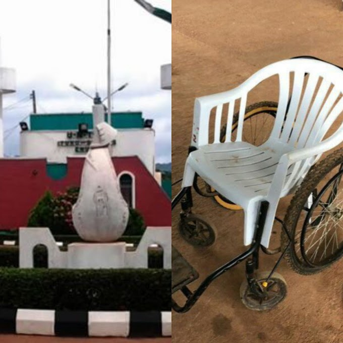 PHOTOS: Plastic Chair Used To Convey Casualty Victims In UNTH, Enugu