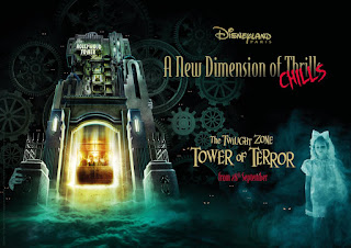 Disneyland Paris A New Dimension of Chills Tower of Terror Announcement