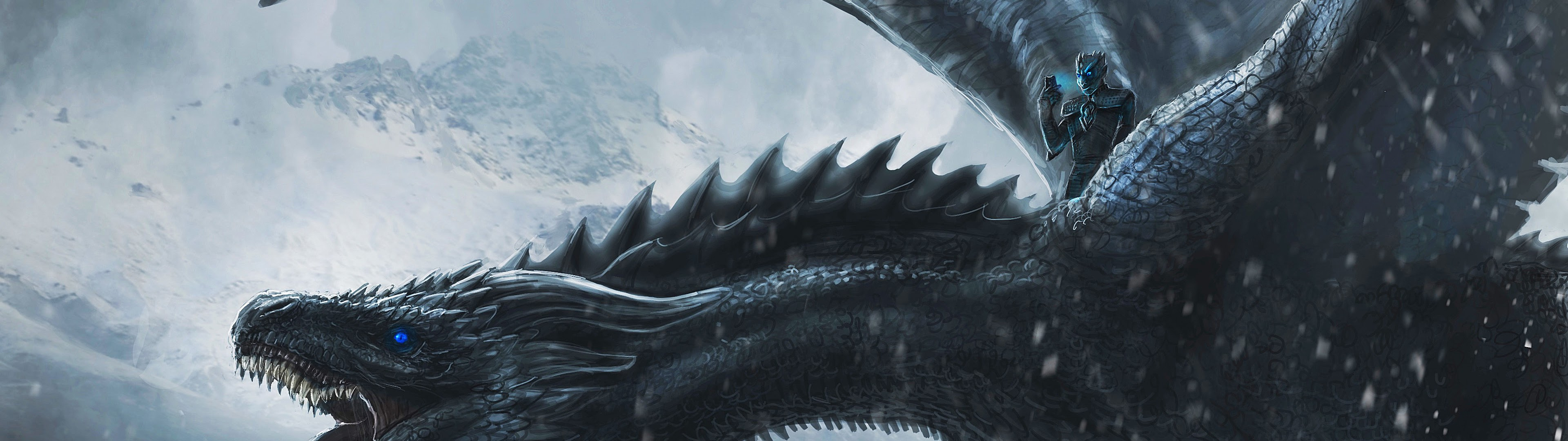 Game Of Thrones Night King Dragon 4k Wallpaper 74
