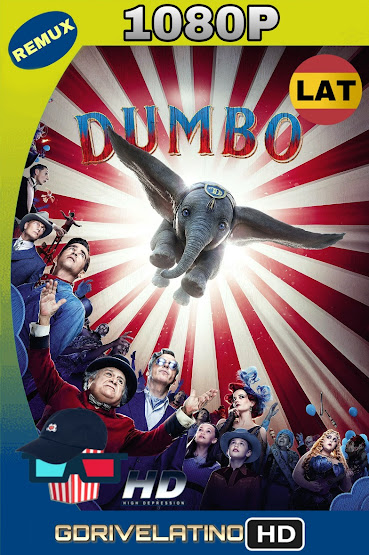 Dumbo (2019) BDRemux 1080p Latino-Ingles MKV