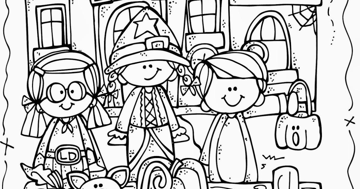 Melonheadz Lucy Doris Halloween Coloring Page Freebie