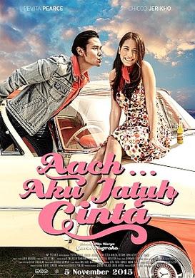 Poster Film Aach... Aku Jatuh Cinta