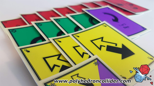 Polyhedron Collider Assembly Review - Card Display