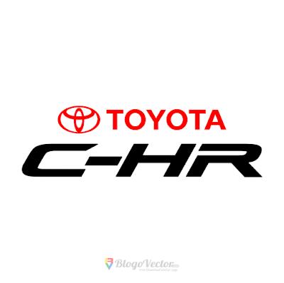 Toyota C-HR Logo Vector