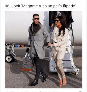 Sergio Ramos look magnate ruso