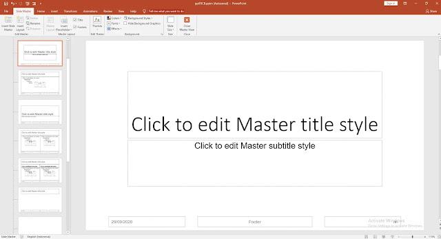 Apa Itu Slide Master Dan Bagaimana Cara Menggunakan Nya