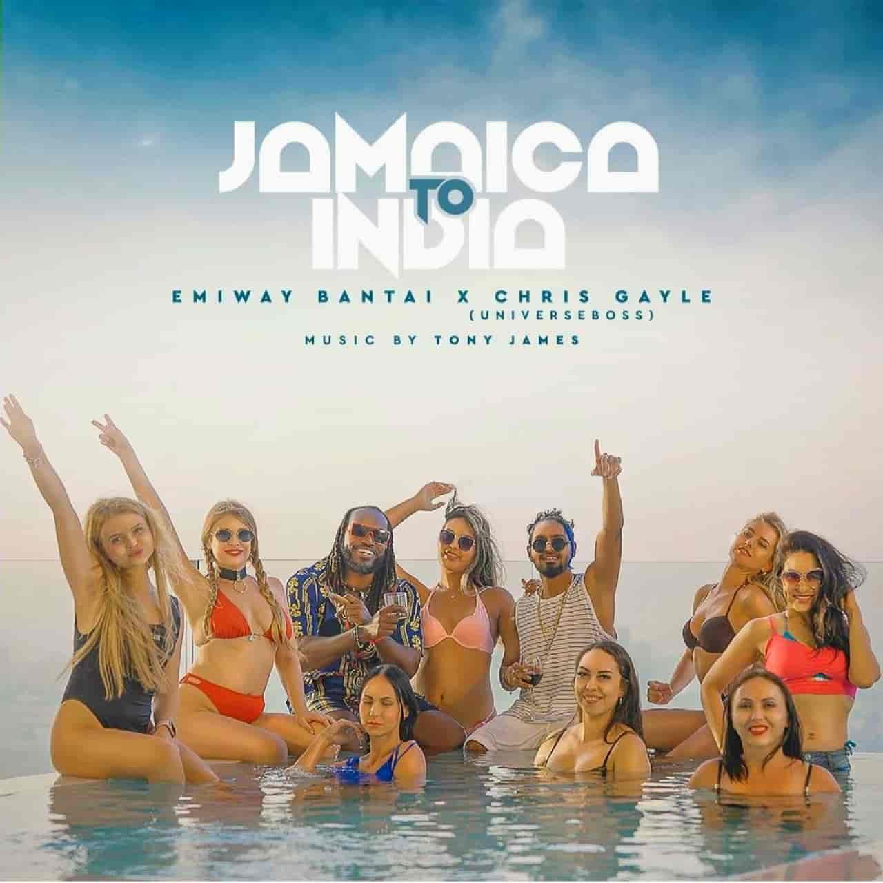 Jamaica To India Song Lyrics Emiway Bantai and Chris Gayle