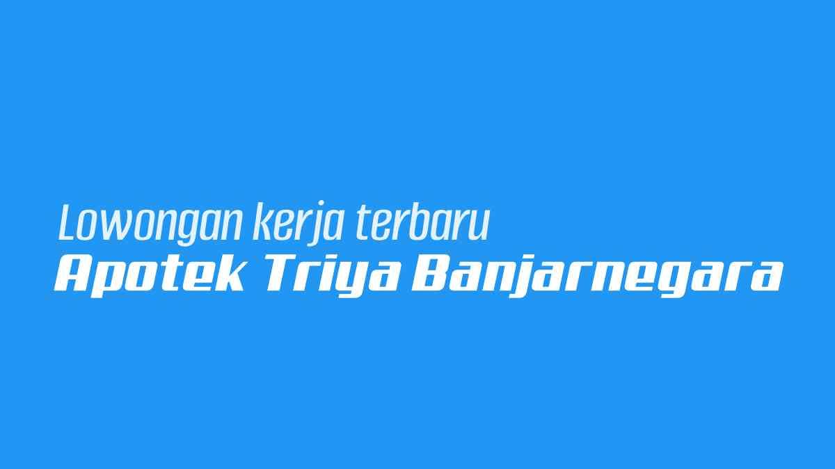 Apotek Triya Banjarnegara