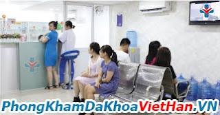 Nội thất phòng khám bệnh Việt Hàn quận 12