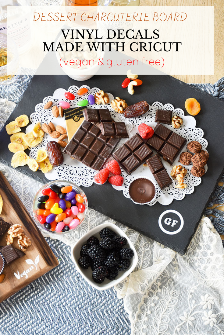 Using Cricut to Create Custom Decals For Dessert Charcuterie Boards