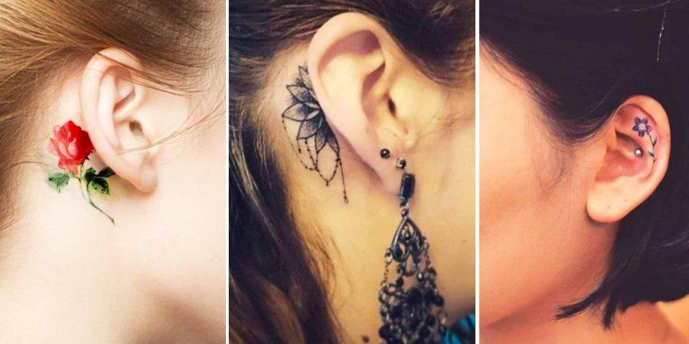 oreille-tatouage féminin-1