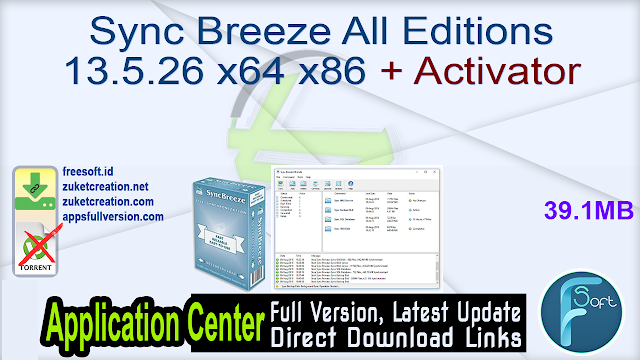 Sync Breeze All Editions 13.5.26 x64 x86 + Activator