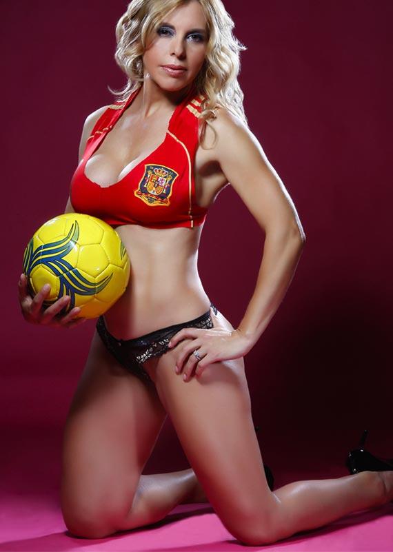 Sólo Fútbol Tv: Marianella Coral, fanática de La Roja
