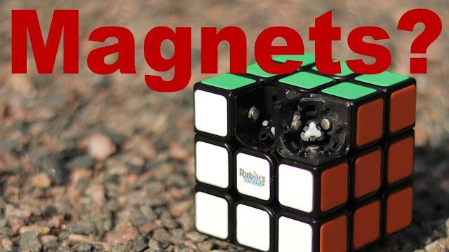 magnet dipasang di dalam rubik untuk apa