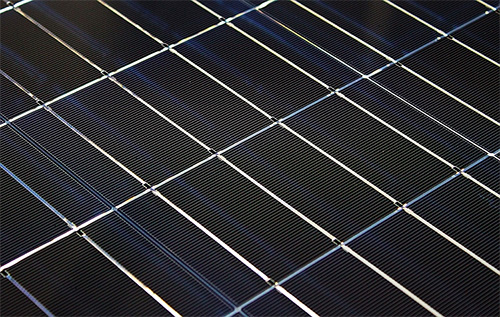 Cellules solaires monocristallines