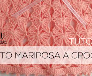Punto Mariposa a Crochet Tutorial 🦋