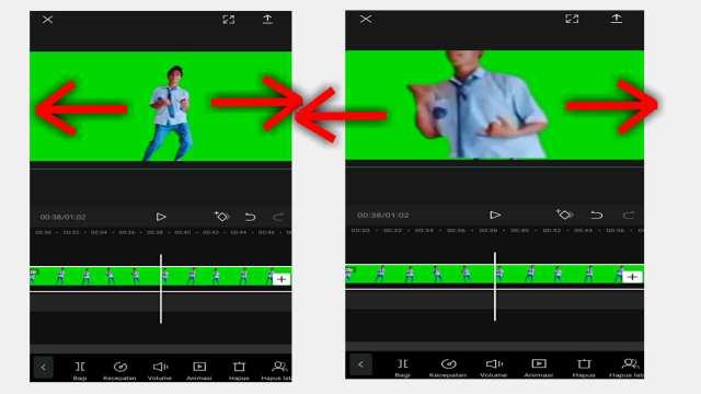Cara Zoom Video di CapCut