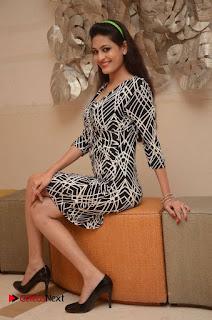 Actress Swetha Jadhav Pictures in Short Dress at 101 Trends Exhibition Press Meet 0012