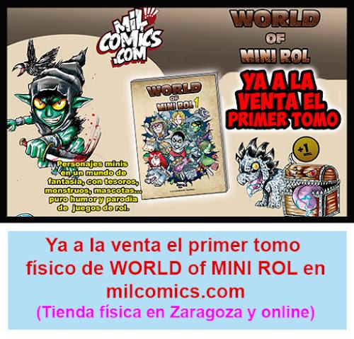 World of Minirol en Milcomics