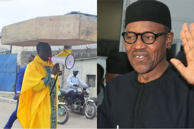 Archbishop Samson Reveals The Reason Why He Didn't Take The Coffin To President Buhari's Residence