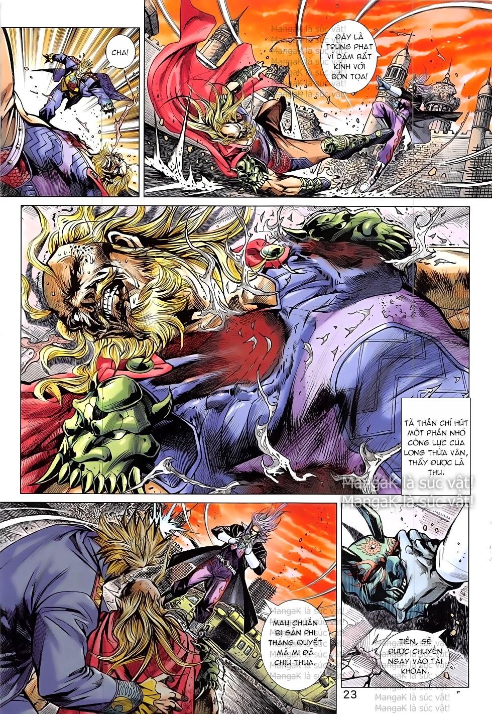 Tân Tác Long Hổ Môn Chap 824 page 23 - Truyentranhaz.net
