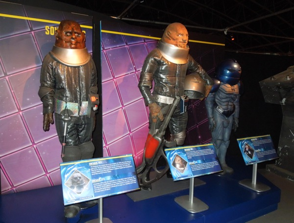 Original Sontaran costumes Doctor Who
