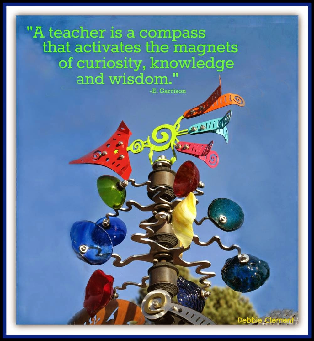 Teacher Quote via Debbie Clement's collection