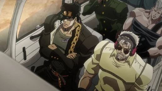 Anime Jojo's Bizarre Adventure