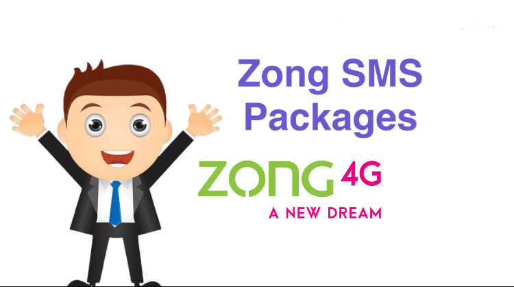 New Top New Zong SMS Packages With Details