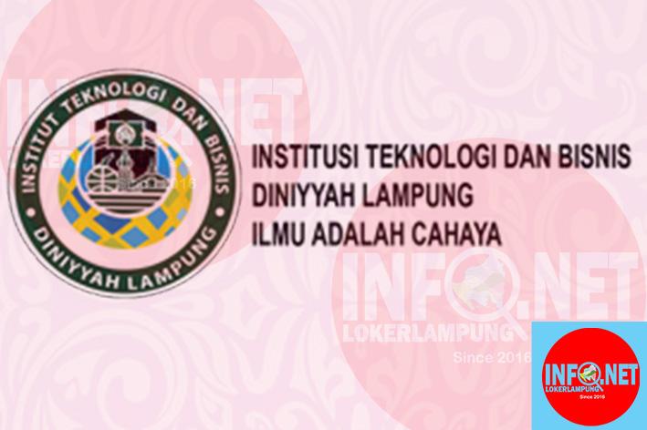 Lowongan Kerja Lampung Dosen Tetap Institut Diniyyah ...