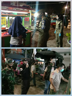 Percepatan Pengendalian COVID-19 , Satpol PP Melaksanakan patroli Di Wilayah Kota Makassar