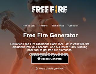 Freefiregenerator com, Situs untuk dapatkan Diamonds free fire [Gratis]