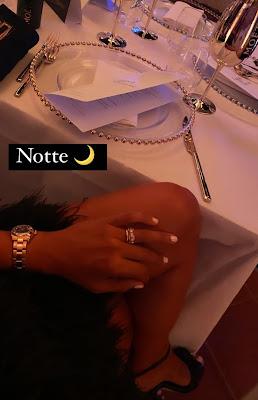 Caterina Balivo orologio Cartier anello prezioso Venezia serata 2 settembre 2021