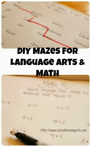 Make Your Own Educational Mazes